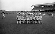 The All Ireland Senior Football Final.1982.19.09.1982.09.19.1982.19th September 1982..The senior final was contested between Offaly and Kerry. Offaly won the title by the narrowest of margins 1.15 to 17 points..The Offaly starting fifteen line out before the match.