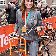 NLD/Den Haag/20180323 - Huldiging Olympische en Paralympische medaillewinnaars, Bibian Mentel