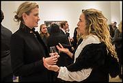 CLEMENTINE CRAWFORD; AMELIA TROUBRIDGE, Steven Meisel: Role Play - private view Phillips,, Berkeley Sq. London. 16 December 2014.
