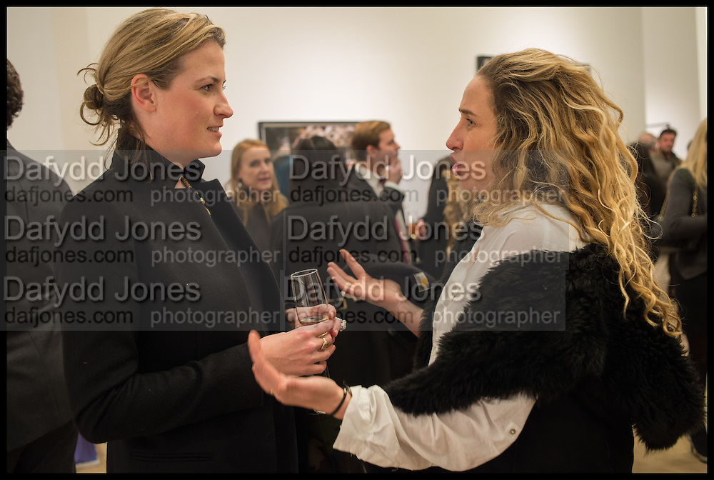 CLEMENTINE CRAWFORD; AMELIA TROUBRIDGE, Steven Meisel: Role Play - private view Phillips,, Berkeley Sq. London. 16 December 2014.