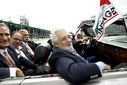 October 28, 2018 - Mexico-City, Mexico - Motorsports: FIA Formula One World Championship 2018, Grand Prix of Mexico, ..Placido Domingo  (Credit Image: © Hoch Zwei via ZUMA Wire)