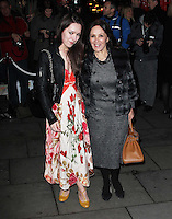 LONDON - DECEMBER 14:   Arlene Phillips and daughter Abi attend the English National Ballet Christmas Party at St Martins Lane Hotel, London, UK on December 14, 2011. (Photo by Richard Goldschmidt)
