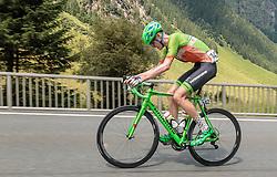 07.07.2017, St. Johann Alpendorf, AUT, Ö-Tour, Österreich Radrundfahrt 2017, 5. Kitzbühel - St. Johann/Alpendorf (212,5 km), im Bild Nils Friedl (AUT, Hrinkow Advarics Cycleang) // Nils Friedl (AUT, Hrinkow Advarics Cycleang) during the 5th stage from Kitzbuehel - St. Johann/Alpendorf (212,5 km) of 2017 Tour of Austria. St. Johann Alpendorf, Austria on 2017/07/07. EXPA Pictures © 2017, PhotoCredit: EXPA/ JFK