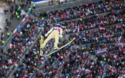 05.02.2017, Heini Klopfer Skiflugschanze, Oberstdorf, GER, FIS Weltcup Ski Sprung, Oberstdorf, Skifliegen, im Bild Gregor Schlierenzauerr (AUT) // Gregor Schlierenzaue of Austria during mens FIS Ski Flying World Cup at the Heini Klopfer Skiflugschanze in Oberstdorf, Germany on 2017/02/05. EXPA Pictures © 2017, PhotoCredit: EXPA/ Peter Rinderer