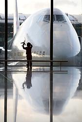 London Heathrow Airport Terminal 5 lifestyle shoot
