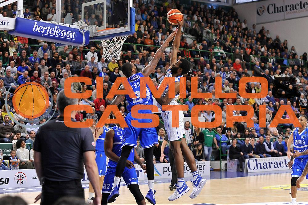 Gani Lawal<br /> Banco di Sardegna Dinamo Sassari - Enel New Basket Brindisi<br /> LegaBasket Serie A LBA Poste Mobile 2016/2017<br /> Sassari 02/04/2017<br /> Foto Ciamillo-Castoria