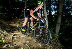 Peter Zupancic during Cross Country XC Mountain bike race for Slovenian National Championship in Kamnik, on July 12, 2015 in Kamnik,  Slovenia. Photo by Vid Ponikvar / Sportida