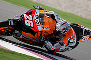 Spanish Dani Pedrosa, Commercial Bank Grand Prix of Qatar, MOTO GP class, Losail International Circuit, 8 April 2006