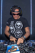 Club Air, Amsterdam. Boekpresentatie van de autobiografie van DJ Jean getiteld Gekkenhuis. Op de foto: DJ Jean