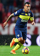 "SEVILLE, SPAIN - NOVEMBER 11:  Carlos Tevez of Boca Juniors in action during the match between Sevilla FC vs Boca Juniors as part of the friendly match ""Trofeo Antonio Puerta"" at Ramon Sanchez Pizjuan stadium on November 11, 2016 in Seville, Spain.  (Photo by Aitor Alcalde Colomer/Getty Images)"