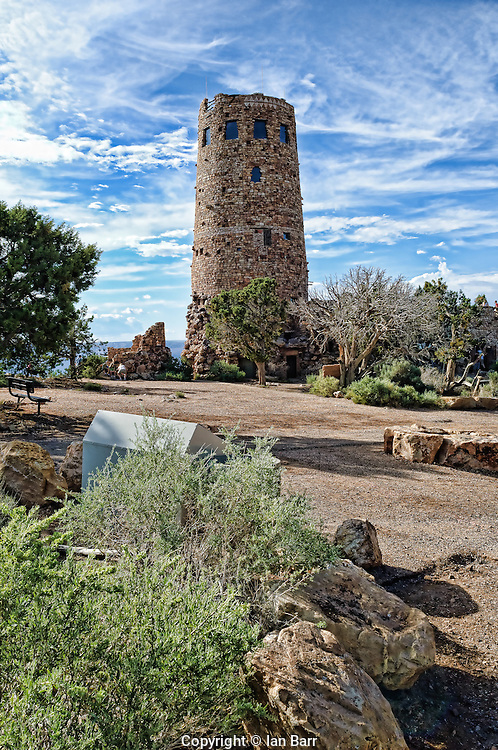 Desert View Watchtower,Grand Canyon National Park, Arizona.