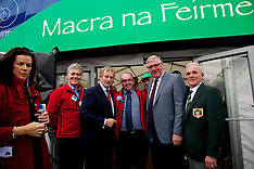 Taoiseach Enda Kenny at Macra na FeirmeStand at The National Ploughing Championships 2014.