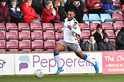 Colchester United player Ryan Jackson(2) during the EFL Sky Bet League 2 match between Scunthorpe United and Colchester United at Glanford Park, Scunthorpe, England on 14 December 2019.
