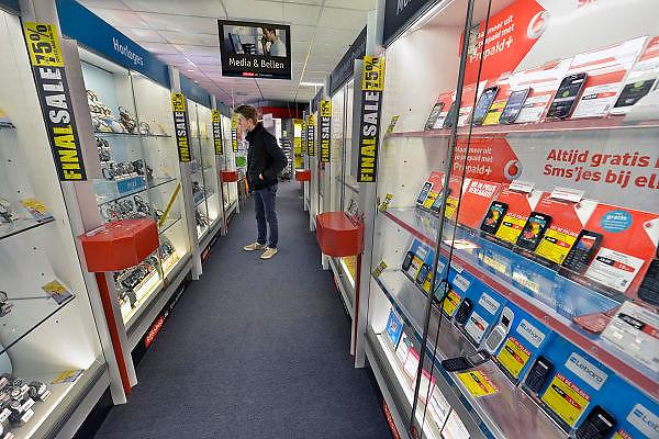 Nederland, Nijmegen, 5-3-2015Interieur Kijkshop winkel.FOTO: FLIP FRANSSEN/ HOLLANDSE HOOGTE
