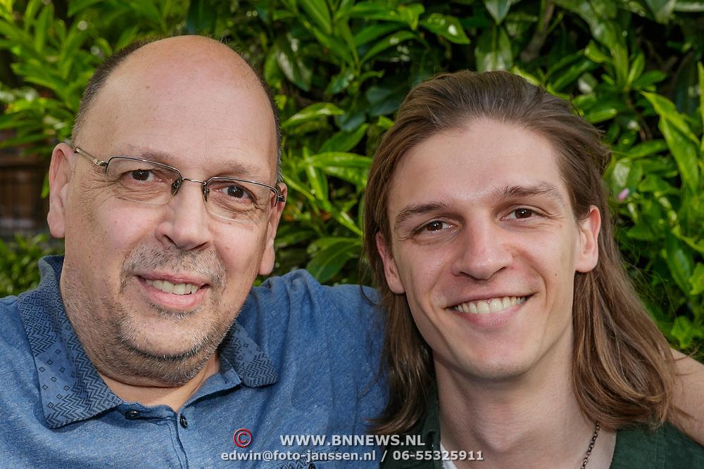 NLD/Amsterdam/20190509 - Audiodrama De Kriminalist aan Anniko van Santen, Simon de Waal en Yannick de Waal
