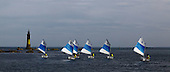 Panoramic pictures - landscapes, water sports and sailing, Brittany, France