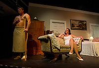 "Winnipesaukee Playhouse dress rehearsal for ""Cat On a Hot Tin Roof"".     (Karen Bobotas/for the Laconia Daily Sun)"