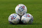 EFL balls on the pitch during the EFL Sky Bet League 2 match between Crawley Town and Carlisle United at the Checkatrade.com Stadium, Crawley, England on 30 September 2017. Photo by Andy Walter.
