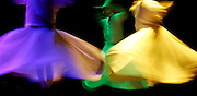 Whirling Dervishes of Rumi 'perform' at the Davis Theater in Montgomery, Alabama.