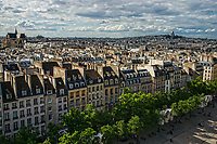 Rue Saint-Martin from Centre Pompidou