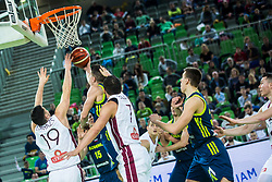 Matic Rebec of Slovenia  during basketball match between National teams of Slovenia and Latvia in Round #10 of FIBA Basketball World Cup 2019 European Qualifiers, on December 2, 2018 in Arena Stozice, Ljubljana, Slovenia. Photo by Grega Valancic