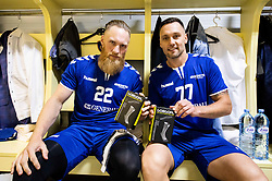 during handball event named Rokometna simfonija organised as a game between Zorman's team and Zvizej's team when Uros Zorman and Luka Zvizej officially retire from their professional handball career, on October 24, 2019 in Arena Zlatorog, Celje, Slovenia. Photo by Vid Ponikvar / Sportida