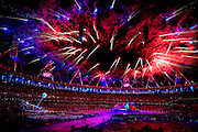The Opening Ceremony of the London 2012 Paralympic Games at the Olympic Stadium, London, Great Britain..29th August 2012