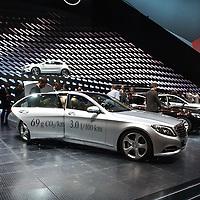 Mercedes S500 PLug-in Hybrid at the IAA 2013, Frankfurt, Germany