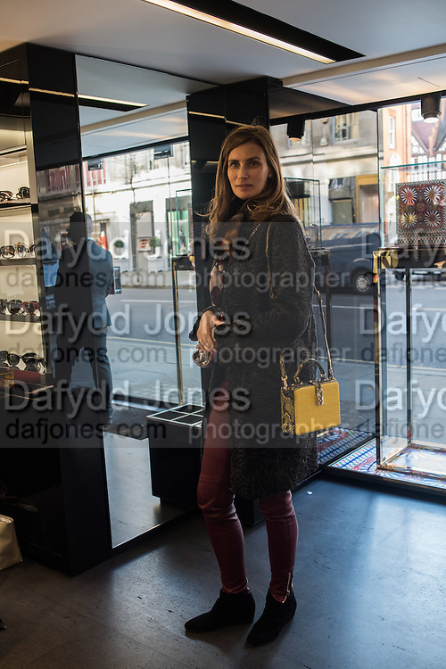 ELENA THEOTOKIS, Anna Scolaro hosts a charity shopping event at  Dolce and Gabbana, 175 Sloane St. London. In aid of TeamFox.org for Parkinsons. 10 February 2016