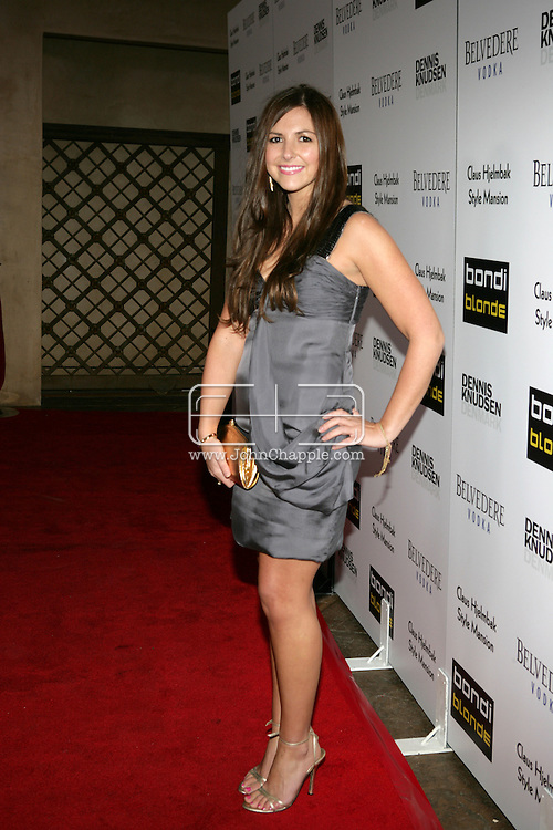 9th February 2009, Beverly Hills, California. Ally Sims at Bondi Blonde's Style Mansion International Party, which was hosted by singer Katy Perry. PHOTO © JOHN CHAPPLE / REBEL IMAGES.tel: +1-310-570-910