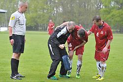 FRA v CZE at the 2016 Football des Sourds France V Tcheque Republique, Igny,