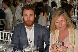 LORD DOWNPATRICK at the Flannels For Heroes cricket competition in association with Dockers held at Burton Court, Chelsea, London on 19th June 2015