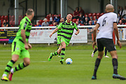 Forest Green Rovers Charlie Clough (5) runs with the ball during the Vanarama National League match between Dover Athletic and Forest Green Rovers at Crabble Athletic Ground, Dover, United Kingdom on 10 September 2016. Photo by Shane Healey.