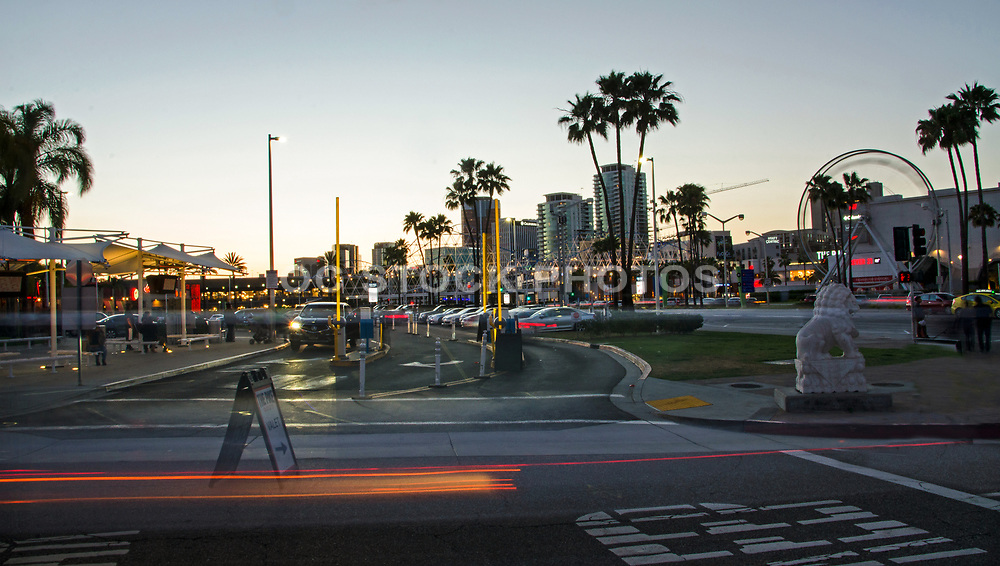 Downtown Long Beach at Dusk