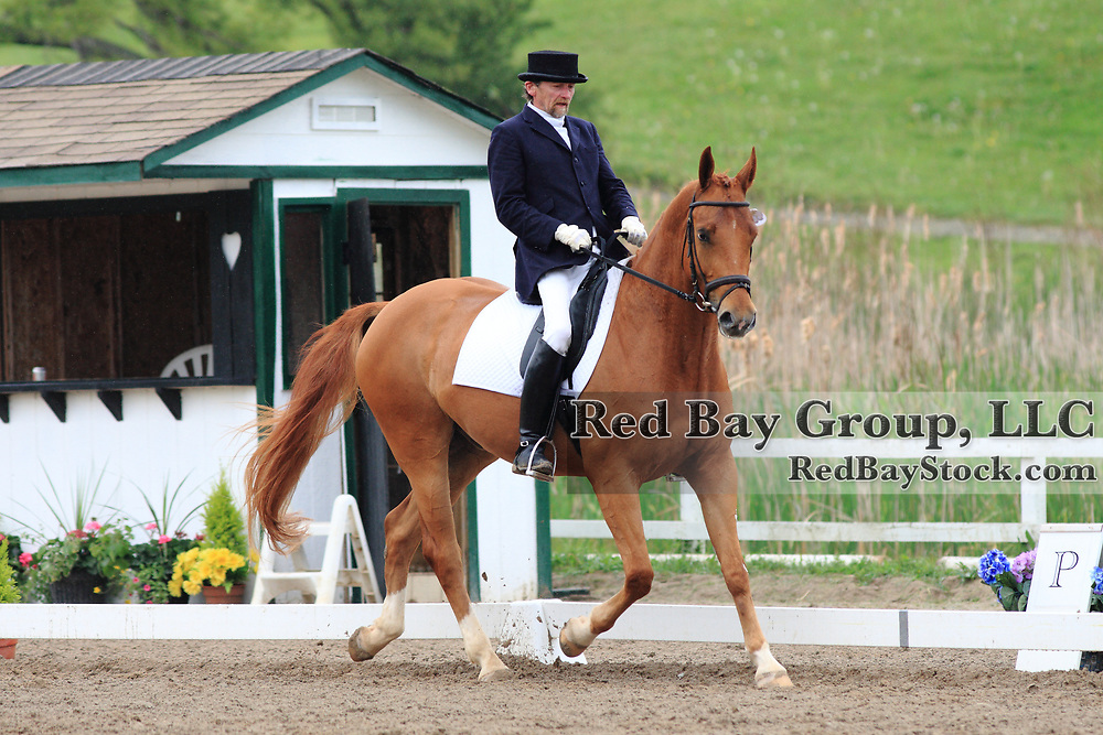 Ralph Mortimer and Walkabout at the 2010 Equivents Spring Classic in Milton, Ontario.