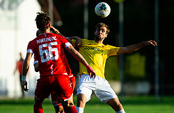Mustafa Nukić of Bravo during football match between NK Aluminij and NK Bravo in Round #14 of Prva liga Telekom Slovenije 2019/20, on October 20, 2019 in Kidricevo, Slovenia. Photo by Vid Ponikvar / Sportida