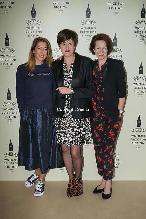 London,UK. 7th June 2017. Photocall for The Baileys Prize for Women's Fiction Awards 2017 at the The Royal Festival Hall, Southbank Centre. by See Li