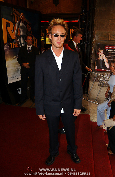 Premiere Tombraider, Charly Luske