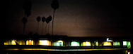 MOTEL AT NIGHT, VENTURA, CALIFORNIA<br />