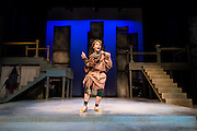 """An all-student cast performs Shakespeare's """"Troilus & Cressida"""" in the Magnuson Theatre Feb. 12. (Photo by Gonzaga University)"""