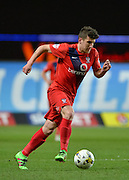 York City midfielder Michael Coulson during the Sky Bet League 2 match between Oxford United and York City at the Kassam Stadium, Oxford, England on 1 March 2016. Photo by Adam Rivers.