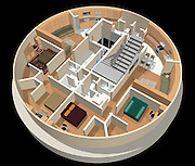 """Survival Condo Project: A Luxurious Underground Doomsday Bunker<br /> <br /> The Survival Condo Project is a luxury condo complex housed in a former underground missile silo near Concordia, in Kansas, in the US. Located 15 stories below ground, it was designed to comfortably survive any apocalypse such as global health pandemics, cataclysmic weather, and terror attack, including a nuclear one. The missile silo was originally built by the U.S. Army Corps of Engineers in the 1960's for the Atlas """"F"""" missile, and there were 72 of them around the country. The walls of the silo, constructed out of epoxy-hardened concrete, are 9 feet thick and designed to survive a direct nuclear strike. The dome structure that covers the silo cap can withstand winds in excess of 500 mph.<br /> <br /> The survival condos are designed to hold up to 70 people and have enough resources to keep them alive for years, as they wait for the dust to settle. A single condo in nearly 2,000-square-foot in size and cost anywhere from $1.5 to $3 million. Larry Hall, the brainchild behind the project, says that the condos are already sold out, but Mr Hall is currently working on a second. <br /> <br /> The condos are equipped with a number of modern amenities: flat-screen TVs, pools, theater, workout area, classrooms and library, and a minor surgery center. Each residential unit is provisioned with a five-year supply of freeze-dried and dehydrated survival food per person. In addition, they have a hydroponic garden where they plan to grow 70 varieties of fruits and vegetables and there's a fish farm where they'll raise tilapia.<br /> <br /> The air supply for the entire facility is filtered by Nuclear, Biological, and Chemical (NBC) filters and the physical air intakes are protected by blast valves that prevent an overpressure air wave created by a nearby explosion from entering the facility and killing those inside. Power is provided by the local electric grid, with a backup large wind turbine, and a d"""
