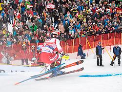 26.01.2020, Streif, Kitzbühel, AUT, FIS Weltcup Ski Alpin, Slalom, Herren, 2. Lauf, im Bild Michael Matt (AUT) // Michael Matt of Austria in action during his 2nd run in the men's Slalom of FIS Ski Alpine World Cup at the Streif in Kitzbühel, Austria on 2020/01/26. EXPA Pictures © 2020, PhotoCredit: EXPA/ Johann Groder