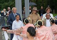 Alphen Aan den Rijn, 17-09-2015<br /> <br /> Queen Maxima wattends 50 year jubilee of the Molukker community of Alphen Aan den Rijn.<br /> <br /> Photo: Royalportraits Europe/Bernard Ruebsamen