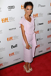Actress SAADET AKSO at the 'Twice Born' premiere during the 2012 Toronto International Film Festival at Roy Thomson Hall, September 13th 2012. Photo by David Tabor/ i-Images.