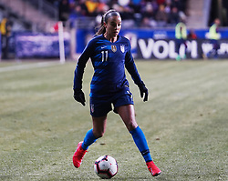 February 28, 2019 - Chester, United States - during the She Believes Cup football match between The United States and Japan at Talen Energy Stadium on February 27, 2019 in Chester, Pennsylvania, United States. (Credit Image: © Action Foto Sport/NurPhoto via ZUMA Press)