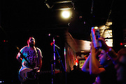 On what has become their farewell tour, punk dynamos Bomb The Music Industry! played Saint Louis one last time at The Firebird on August 13th, 2012. Beers was spilled, people cheered, and shirts were make in the parking lot.
