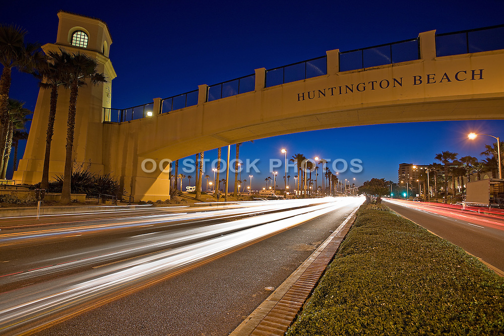 The Huntington Beach Pedestrian Bridge
