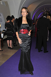 SAFFRON ALDRIDGE at The Surrealist Ball in aid of the NSPCC in association with Harpers Bazaar magazine held at the Banqueting House, Whitehall, London on 17th March 2011.