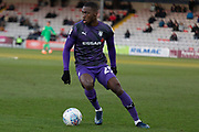 Corey Blackett-Taylor (23) during the EFL Sky Bet League 1 match between Lincoln City and Tranmere Rovers at Sincil Bank, Lincoln, United Kingdom on 14 December 2019.